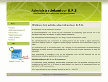 Tablet Preview of adminkantbps.nl